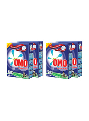 Omo Active Auto Stain Removal Powder Detergents, 4 Pieces x 2.5 Kg