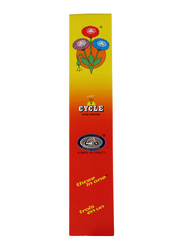 Cycle Three in One Classic Pure Incense with Lily Agarbathies Sticks, Fancy, Intimate Scent, 21 Sticks, Red