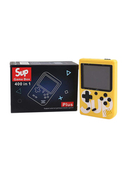 Sup 400-in-1 Retro Handheld Game Console, Yellow