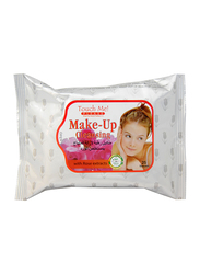 Touch Me Please Make Up Cleansing with Rose Extract, 25 Sheets, White