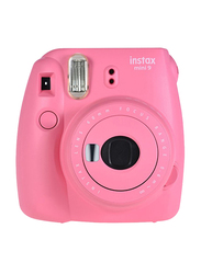 Fujifilm Mini Instax 9 Instant Camera with 60mm, 16 MP, Flamingo Pink