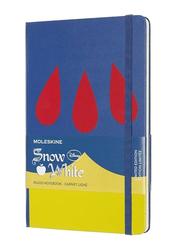 Moleskine Disney Snow White Notebook, 21cm, Navy Blue/Yellow