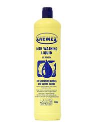 Chemex Lemon Dishwashing Liquid, 2 Bottles x 1 Liter