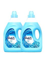Comfort Dilute Spring Dew Softener, 2 Bottles x 4 Litre