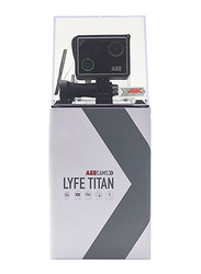 AEE Lyfe Titan S90A Action Camera with Ultra 4K Video, 16 MP, Black