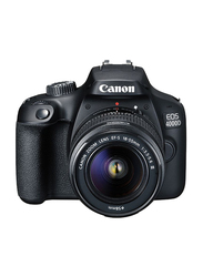 Canon EOS 4000D DSLR Camera With EF-S 18-55mm, 18 MP, Black
