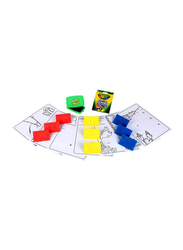 Crayola My First Stage Puzzle Stampers, 3-Pieces, Multicolour