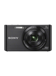 Sony DSC-W830 Digital Camera, with 26 mm Wide-Angle Lens, 20.1 MP, Black