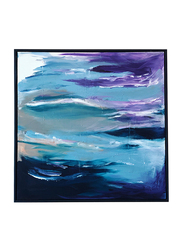 Nadeco Design Musical Waves Abstract Wall Painting, 100 cm x 100 cm, Multicolor