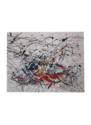 Nadeco Design Lebanon is on My Mind Abstract Wall Painting, 56 cm x 71 cm, Multicolor