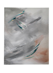 Nadeco Design Dive Abstract Wall Painting, 100 cm x 80 cm, Multicolor