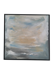 Nadeco Design Dusty Sky Abstract Wall Painting, 100 cm x 100 cm, Multicolor