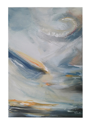 Nadeco Design Kazdoura in The Sky Abstract Wall Painting, 61 cm x 46 cm, Multicolor