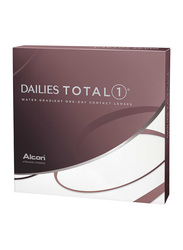 Dailies Alcon Total 1 1-Day Pack of 90 Contact Lenses with Various Powers, Clear, 0.75