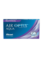 Air Optix Alcon MultiFocal Aqua Monthly Pack of 3 Contact Lenses, Clear, -3.00 LOW