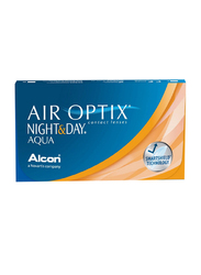 Air Optix Alcon Night & Day Aqua Monthly Pack of 3 Contact Lenses, Base Curve: 8.4mm, Clear, -2.75