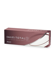 Dailies Alcon Total 1 1-Day Pack of 30 Contact Lenses with Various Powers, Clear, -5.00