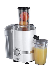 Russell Hobbs 3 in 1 Ultimate Juicer, 800W, 22700, White/Clear
