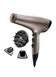 Remington Keratin Protect Hair Dryer, 2200W, AC8002, Brown