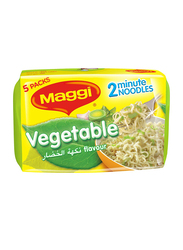 Maggi 2 Minute Vegetable Noodles, 5 Packs x 77g