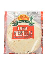 Cantina Mexicana Flour Tortilla Wrap 340g