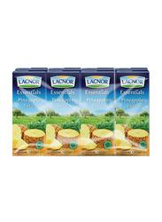 Lacnor Essentials Pineapple Juice, 8 x 180ml