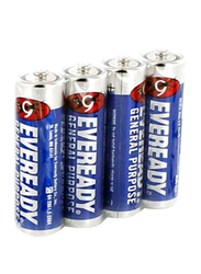 Eveready AAA Battery, 4 Piece, Blue