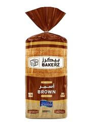 Al Rawabi Bakerz Brown Sliced Bread, 600g
