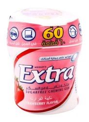 Wrigley's Extra Strawberry Chewing Gum, 84g