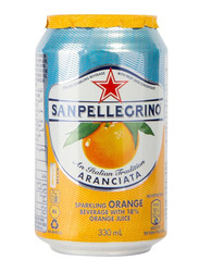 San Pellegrino Aranciata Orange Juice, 330ml