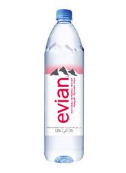 Evian Prestige Natural Mineral Water, 1.25 Liters