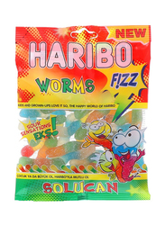 Haribo Fizz Worms Sour Sensation Candy, 160g