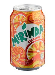 Mirinda Orange Soft Drink Can, 330ml