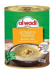 Al Wadi Ready To Eat Hummus Tahina, 400g