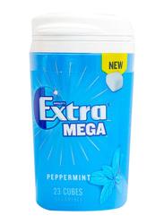 Wrigley's Extra Mega Peppermint Cubes Gum, 23 Pieces