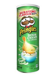Pringles Sour Cream & Onion Potato Chips, 165g