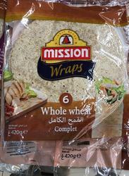 Mission Wholemeal Wrap, 6 Pieces, 420g