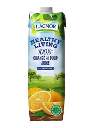 Lacnor Healthy Living Orange Juice, 1 Liter