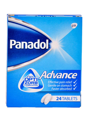 Panadol Advance with Opti Zorb, 24 Tablets