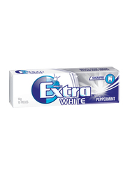 Wrigley's Extra White Peppermint Chewing Gum, 14g