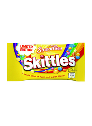 Skittles Limited Edition Smoothies Yogurt and Fruit Flavour Chewy Candy, 38g