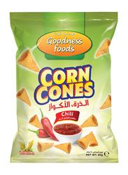 Goodness Foods Corn Cones Chili, 90g