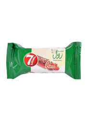 7-Days Strawberry Flavor Cocoa Swiss Roll, 20g
