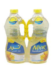 Noor Sunflower Oil and AP Flour, 2 x 1.5 Liter