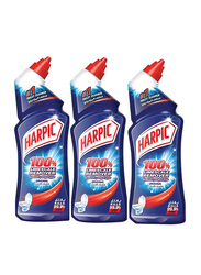 Harpic Original Lime Scale Remover Toilet Cleaner, 3 Bottles x 750ml