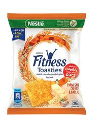 Nestle Cheese & Garlic Oats Fitness Toasties, 36g