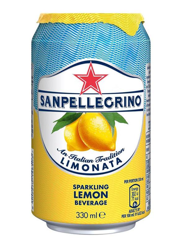 San Pellegrino Limonata Sparkling Beverage, 330ml