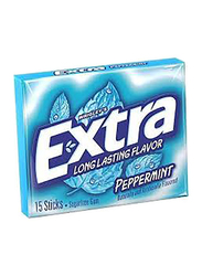 Wrigley's Extra Mint Peppermint Chewing Gum, 20g