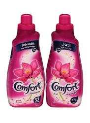 Comfort Orchid & Musk Fabric Softeners, 2 Bottles x 1.5 Liters