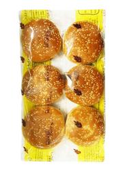Modern Bakery Burger Bun with Sesame, 6 Pieces